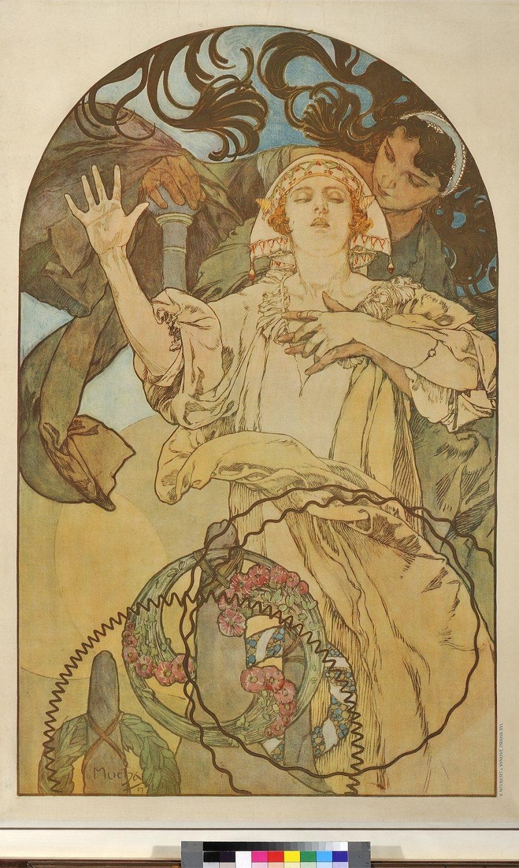 De Forest Phonofilm, Bio Adria, 1927, litografía a color.