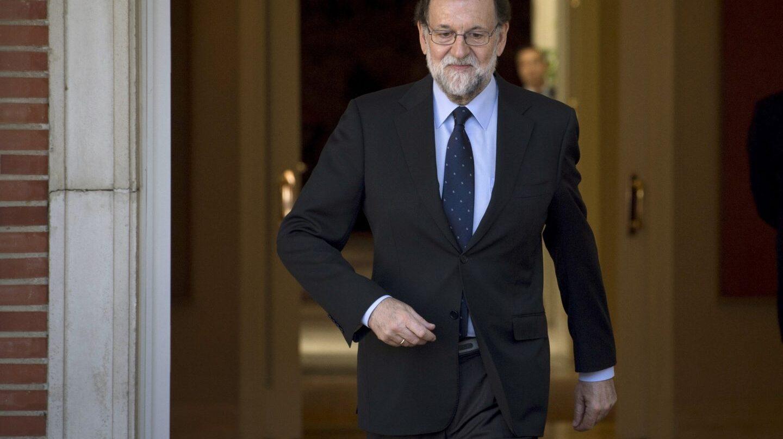Mariano Rajoy, en Moncloa.