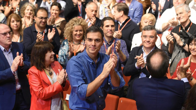 Pedro Sánchez, en la clausura del 13º congreso regional del PSOE de Madrid.