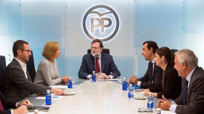 Rajoy reunió ayer a su comité de dirección en Génova