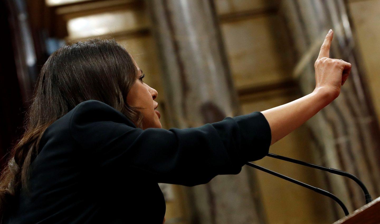 La portavoz de Ciudadanos y candidata a la presidencia de Cataluña, Inés Arrimadas.