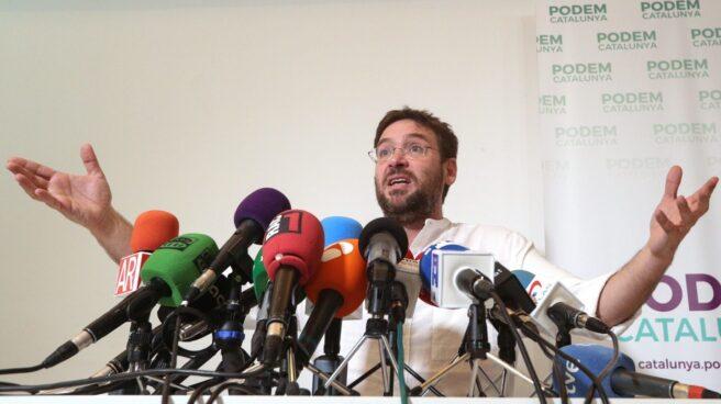 El secretario general de Podem, Albano-Dante Fachin.
