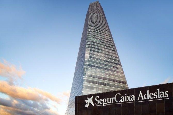 Edificio de SegurCaixa Adeslas en Barcelona.