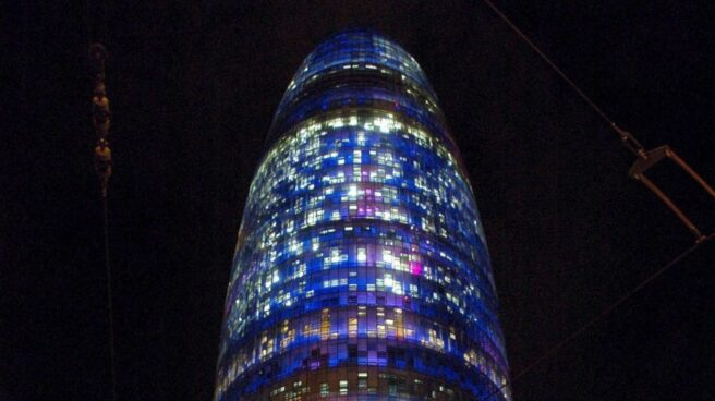 Torre Agbar, sede de Aguas de Barcelona.