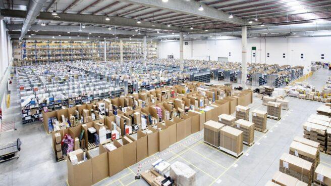 Centro logístico de Amazon en San Fernando de Henares.
