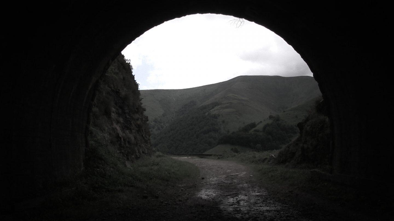 Boca norte túnel de La Engana.