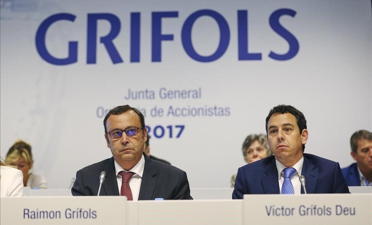 Grifols se resiste a cambiar su sede de Cataluña.