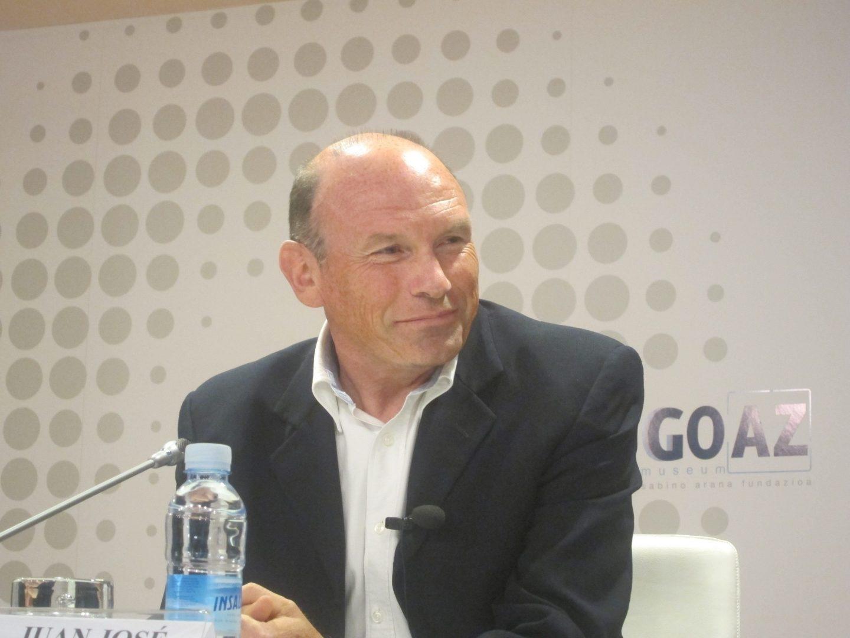 El lehendakari Juan José Ibarretxe