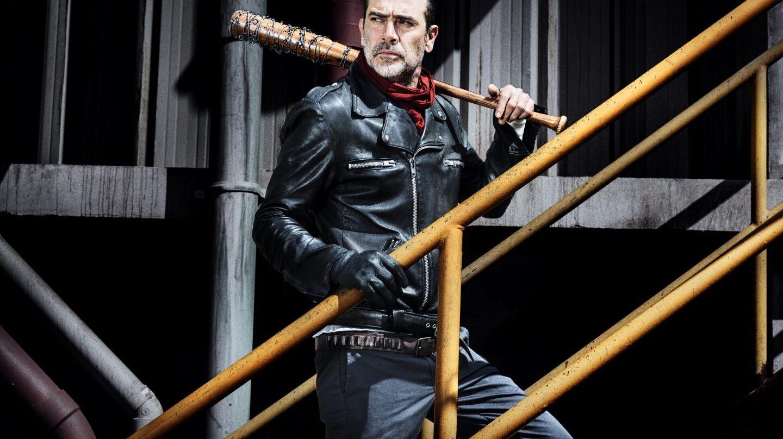 Jeffrey Dean Morgan Negan en 'The Walking Dead'.