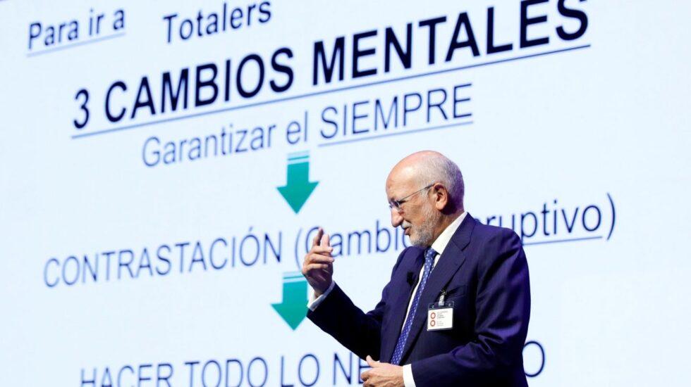 Juan Roig, presidente de Mercadona, en Valencia.