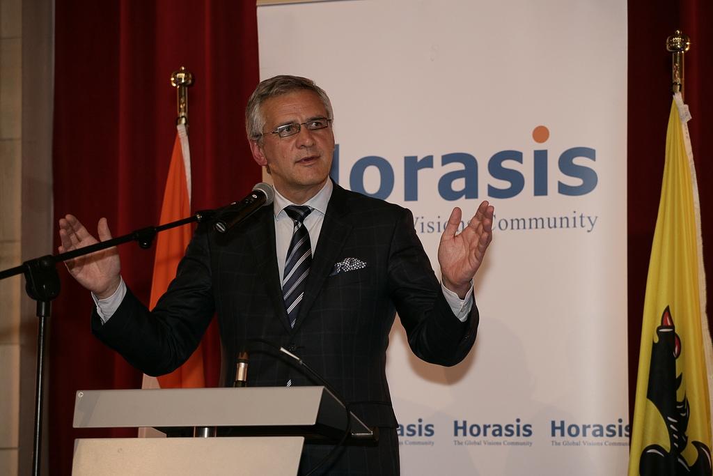 El viceprimer ministro de Bélgica, Kris Peeters.