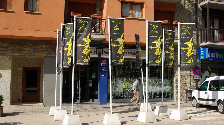 Administración de lotería La bruja de Oro en Sort.