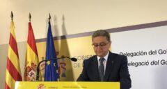 Enric Millo, en la Delegación del Gobierno en Cataluña.