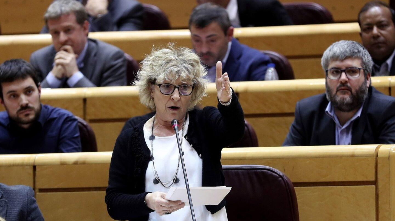 """Mireia Cortés (ERC) en el Senado: """"Visca la república catalana"""""""