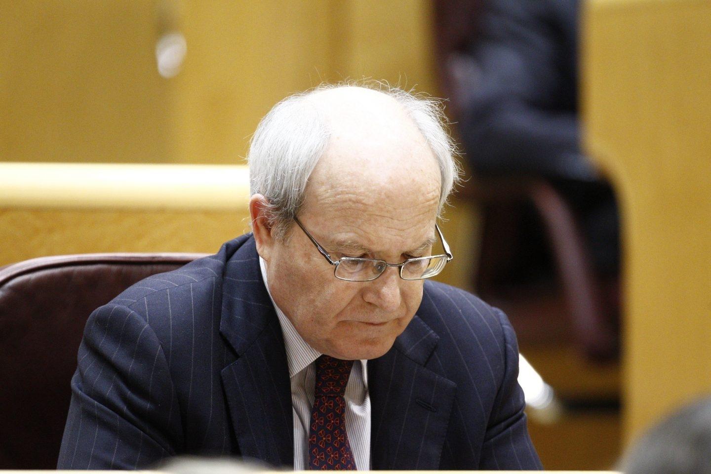 El ex presidente de la Generalitat José Montilla, en el Senado.