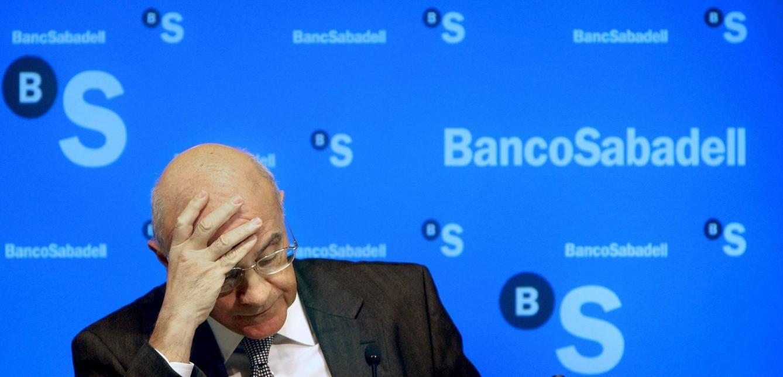 Banco Sabadell lidera las caídas de la banca por las tensiones en Cataluña.