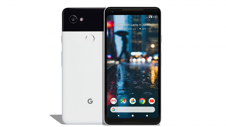 Pixel 2 XL en blanco y negro