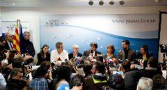 Puigdemont y sus consejeros, detenidos a la espera de la decisión del juez belga