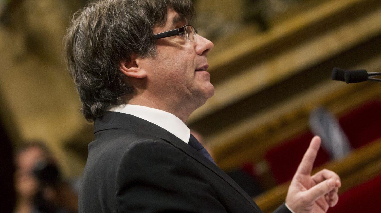 10-O: Discurso de Puigdemont en el Parlament.