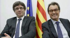Mas y Puigdemont, cabezas visibles en la batalla por el control de JxCat