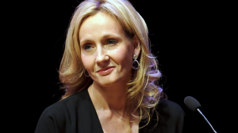 J. C. Rowling, autora de Harry Potter.