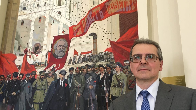 Dmitry Sokolov, ministro consejero de la embajada de la Federación Rusa, en la legación en Madrid.