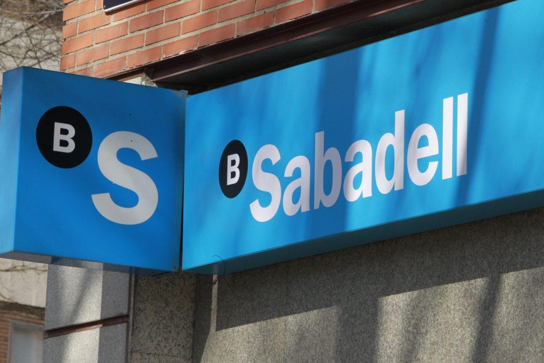 Sucursal del Banco Sabadell.