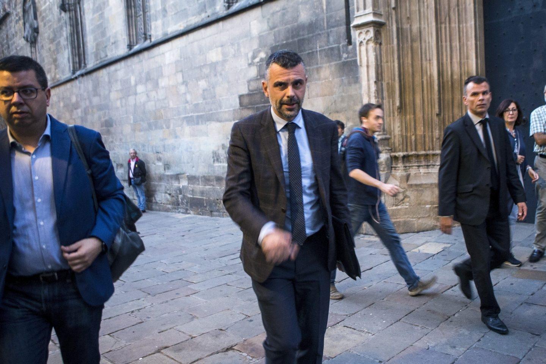 El conseller de Empresa y Conocimiento, Santi Vila.