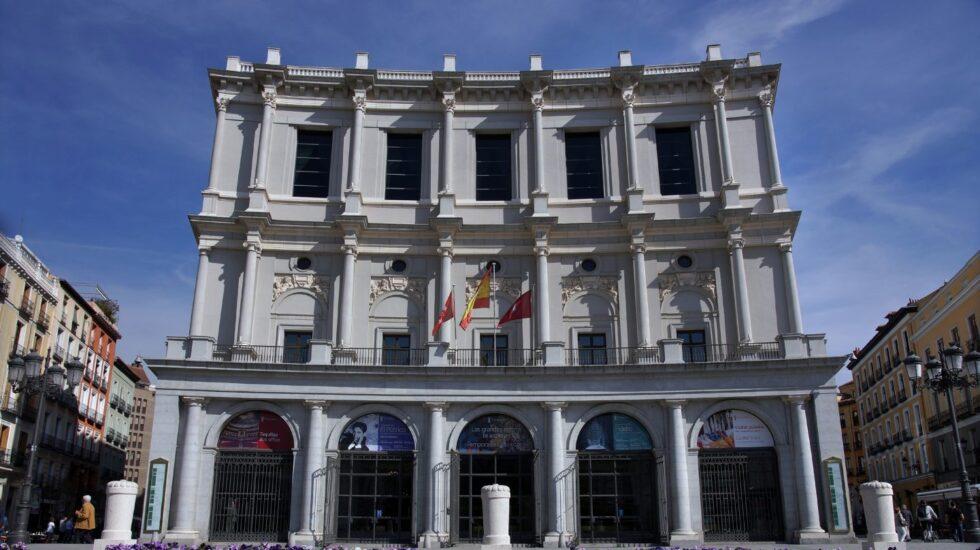 Fachada del Teatro Real.