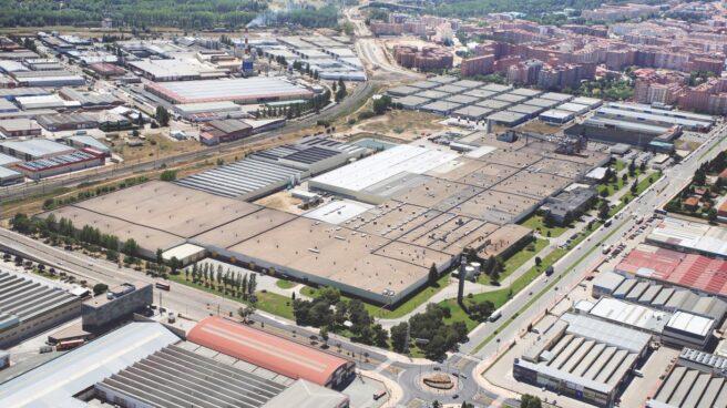 Imagen de la planta de Bridegstone en Burgos en la que la compañía invertirá 70 millones hasta 2022.
