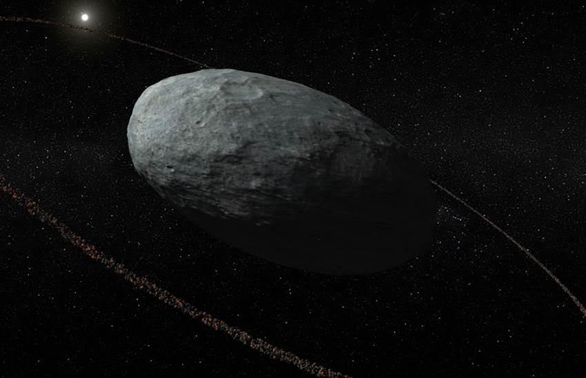 Anillo en Haumea