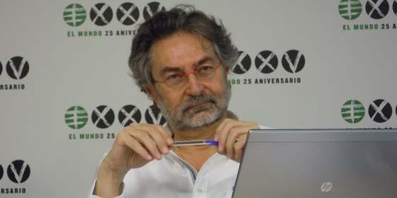 El periodista Antonio Rubio, presidente de la Asociación de Periodistas de Investigación.