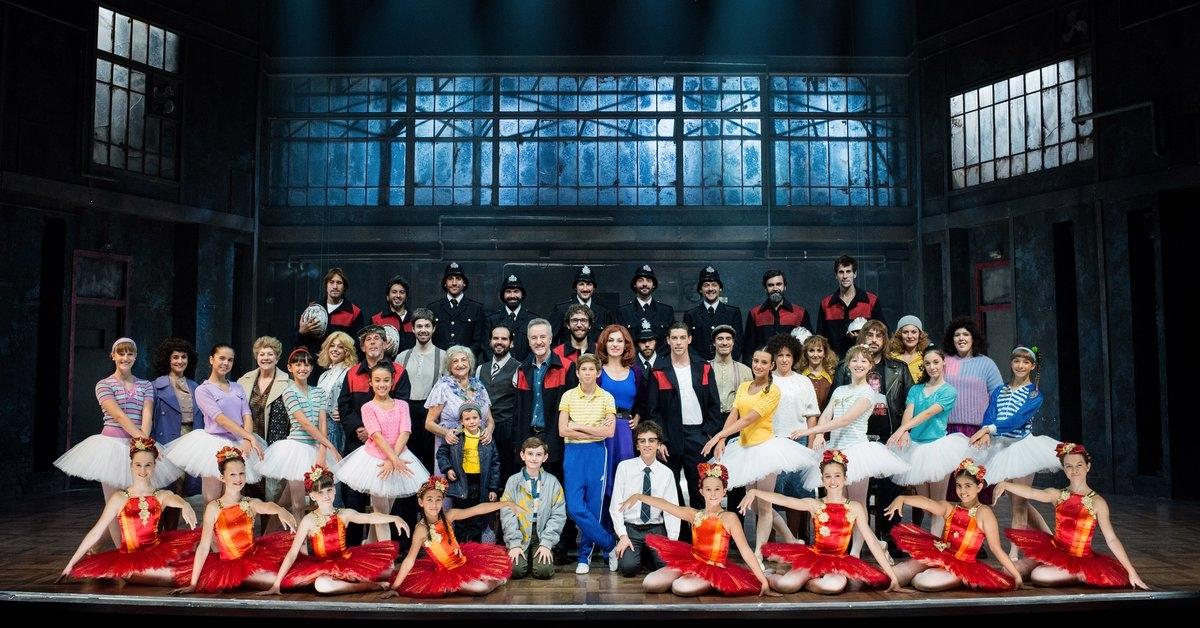 """El reparto del musical """"Billy Elliot"""""""