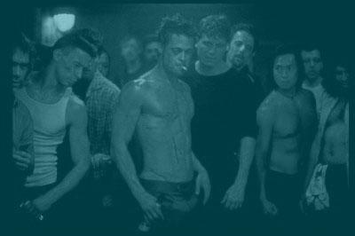Brad Pitt en 'El club de la Lucha'.