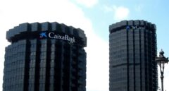 La sede de Caixabank en Barcelona.