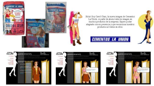 Cementos La Unión recibió una demanda judicial por publicidad sexista.