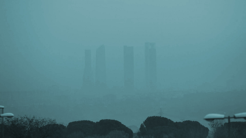 Contaminacion en Madrid.