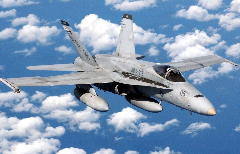 Caza F-18 Hornet de Boeing