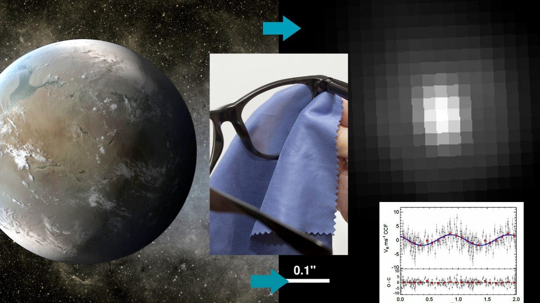 La supertierra Gisele 625b luce más interesante en la recreación artísitica que en la imagen de telescopio