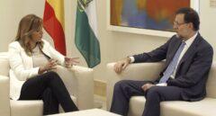 Susana Díaz ha expresado a Rajoy su pleno apoyo para frenar a Puigdemont