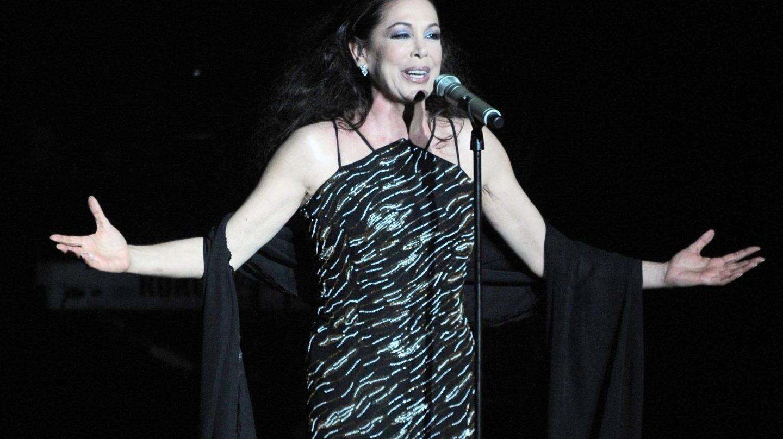 Isabel Pantoja durante un concierto.
