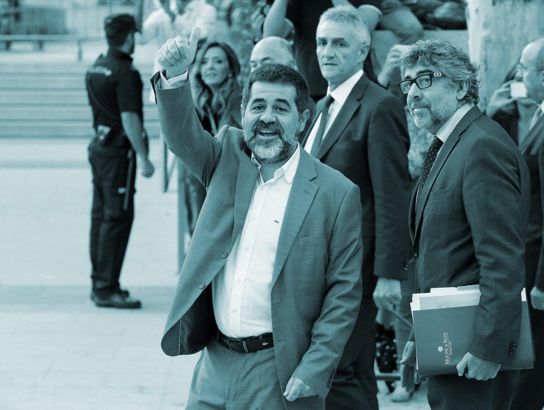 El presidente de la Asamblea Nacional Catalana, Jordi Sànchez.