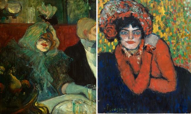 Lautrec y Picasso en el Thyssen.