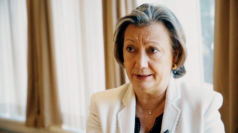 Luisa Fernanda Rudi en el Senado