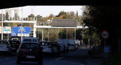 Tráfico en la M-30 de Madrid, en una imagen de noviembre de 2015.