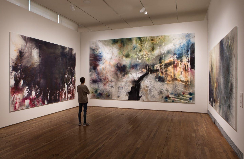 Sala de 'El espíritu de la pintura'.