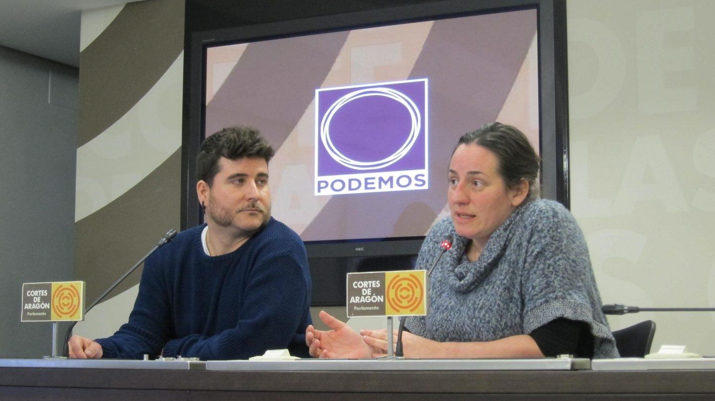 Nacho Escartín, nuevo líder de Podemos Aragón en sustitución de Pablo Echenique.