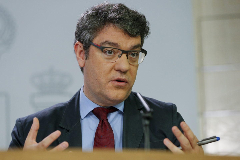 El ministro de Energía, Turismo y Agenda Digital, Álvaro Nadal.
