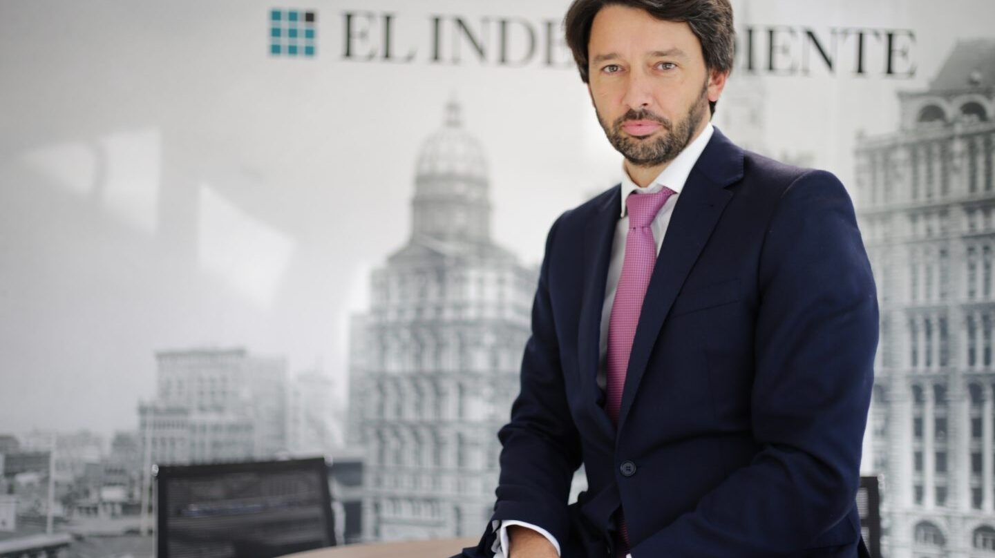 "Pablo Caño, director general de 'El Independiente""."