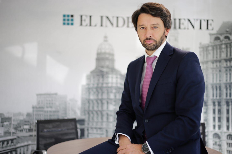 """Pablo Caño, director general de 'El Independiente""""."""